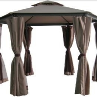 Aluminum / Steel Hybrid Enclosed Gazebo